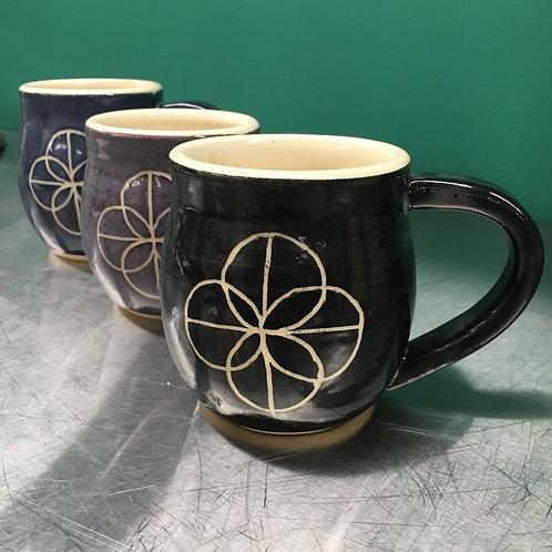 IO Logo Handmade Mug