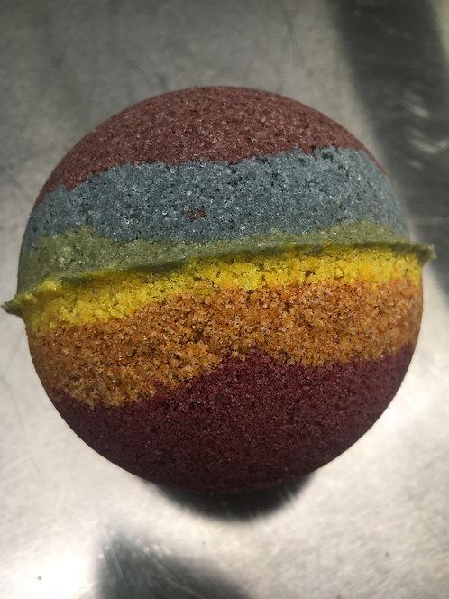 Rainbow Herbal Bath Bomb