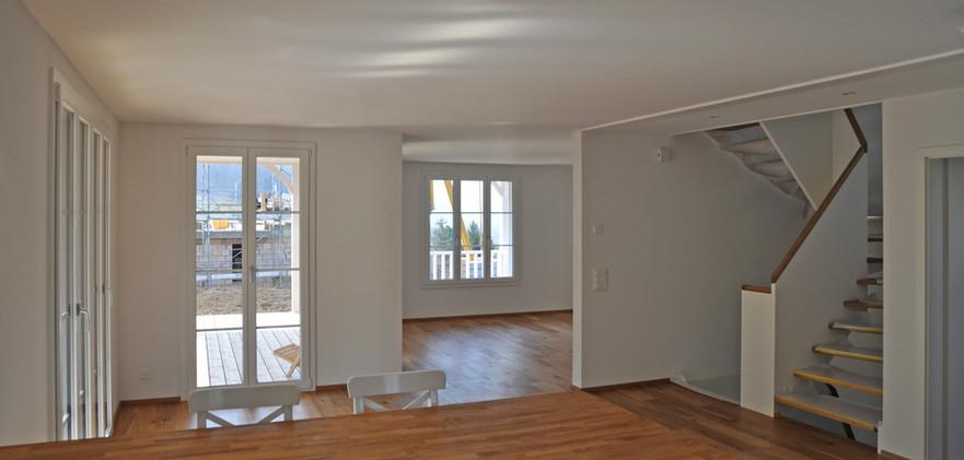 Einfamilienhaus Itingen Wohnraum