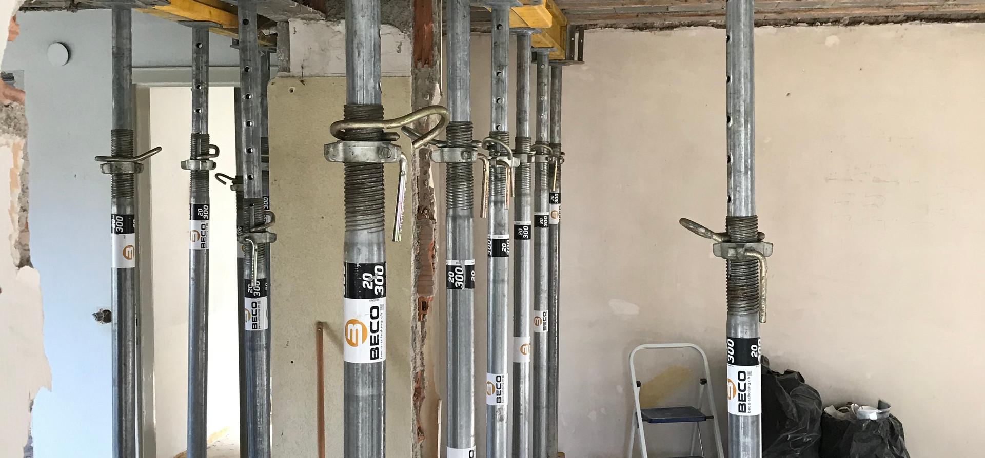 Wohnzimmer Umbaustand November 2019