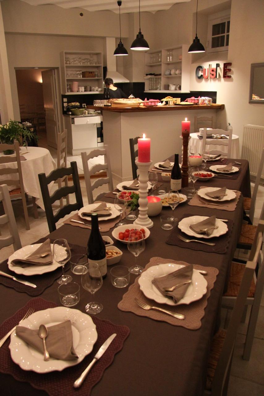 Table d'hotes Clos Saint martin 4
