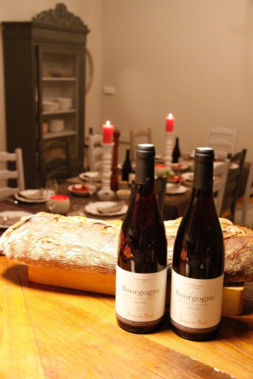 Table d'hotes Clos Saint martin 1