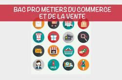 Bac Pro Métiers du Commerce & de la Vente