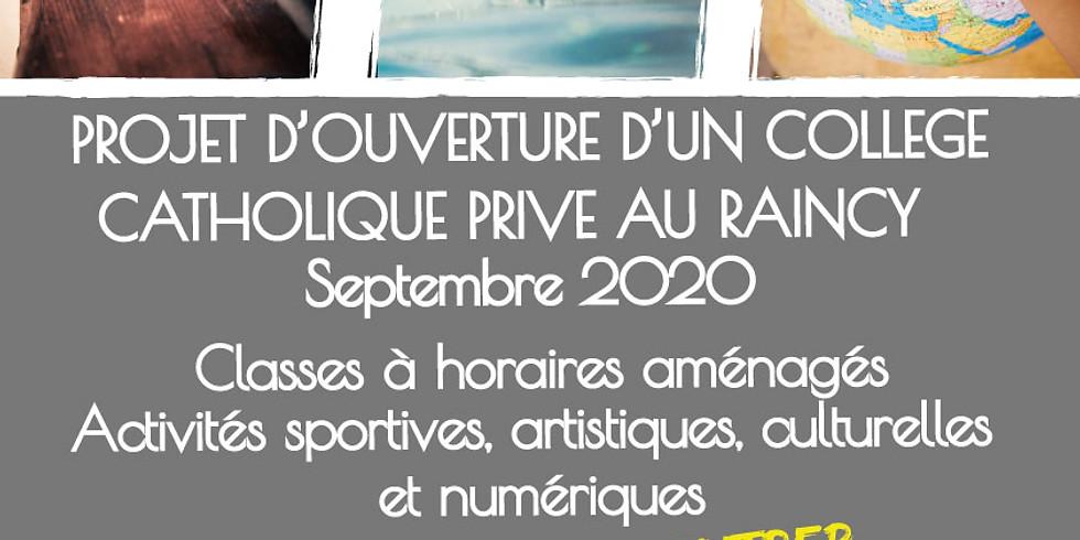 JPO - Collège Sainte Louise de Marillac, Le Raincy