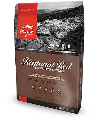 オリジン レジオナルレッド Orijen Regional Red パッケージ表