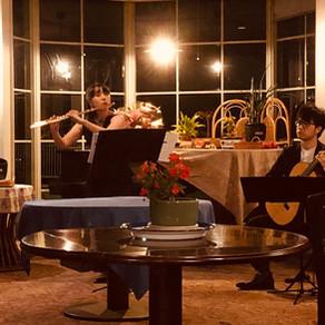 フルートとギター秋のディナーコンサート