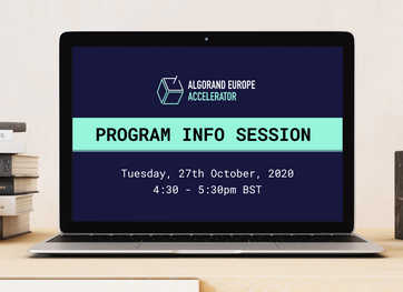 Program Info Session and Q&A - 27th October