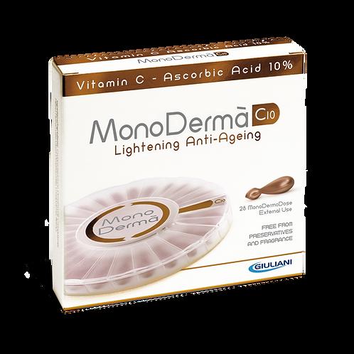 MONODERMA - C10 vitamin skincare - Lightening Anti-Ageing - 28pearls x 0.5ml