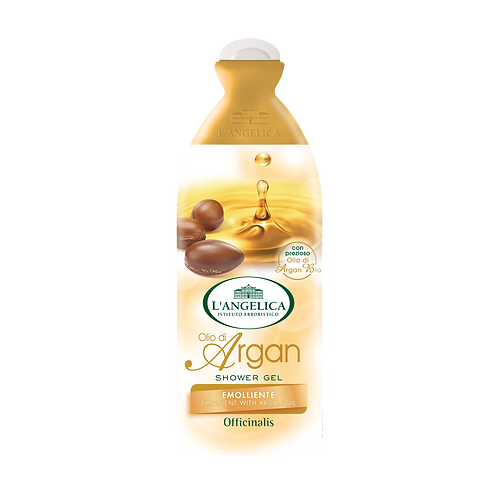 L'ANGELICA Officinalis - Shower Gel - Emollient with Argan Oil (250ml)