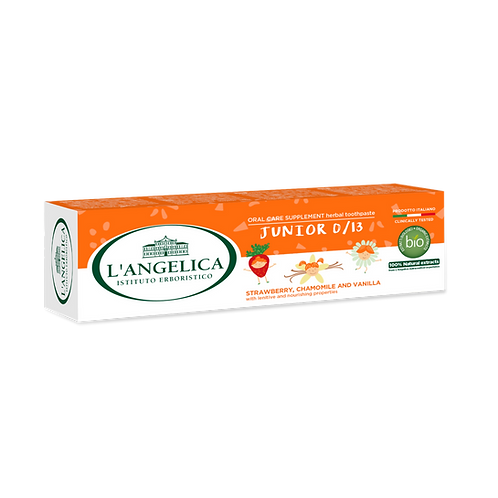 L'ANGELICA Toothpaste - Junior 0/13 (50ml)