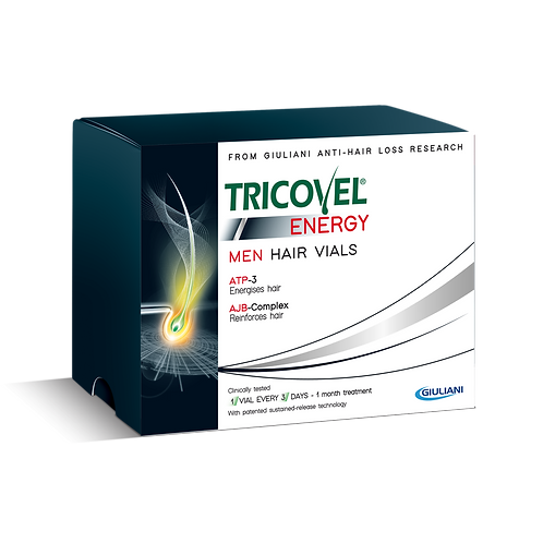 TRICOVEL (Bioscalin) - Energy Vials - Anti Hair Loss (10 vials)