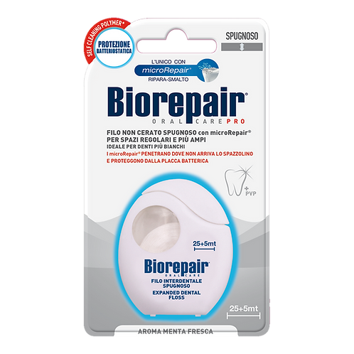 BIOREPAIR - Spongy Non-Waxed Floss (30mt)