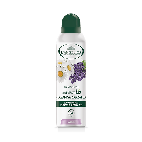 L'ANGELICA Deo - Spray Lavander & Chamomile Calm (150ml)
