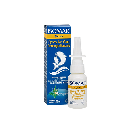 ISOMAR Nose - No Gas Spray - Decongestant - Hypertonic Sea Water (30ml)