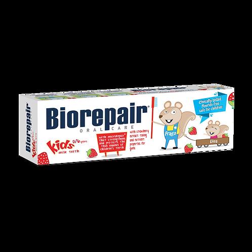 BIOREPAIR Kids - Strawberry 0-6 - Toothpastes (50ml)