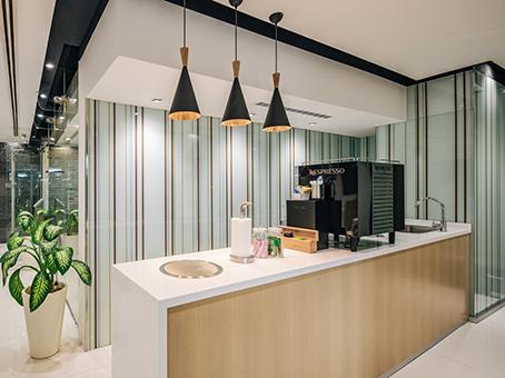 The Italian Showroom Coffee station