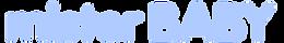 MISTER BABY - Logo3 - 325x50 - light blu