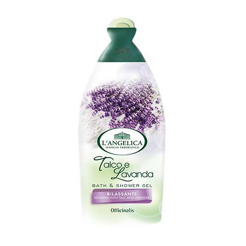 L'ANGELICA Officinalis - Bath&Shower Gel - Talc & Lavander (500ml)