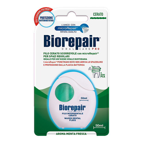 BIOREPAIR - Non-expanding Waxed Floss (50mt)