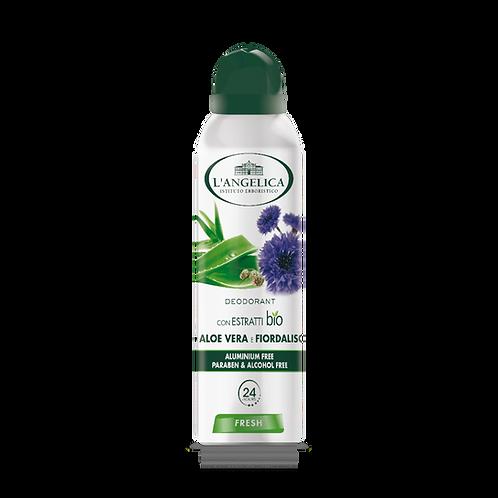L'ANGELICA Deo - Spray Aloe & Cornflower Fresh (150ml)