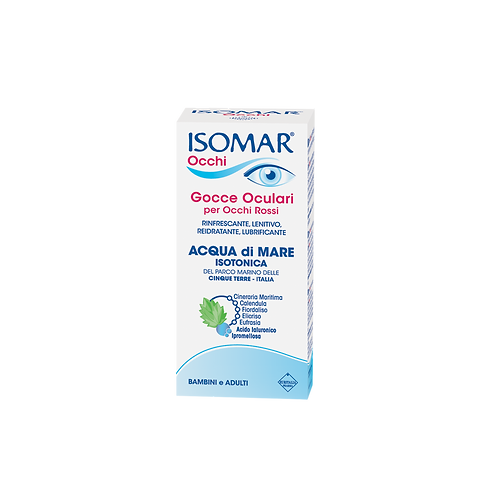 ISOMAR Eyes - Multidose Eye-Drops - Isotonic Sea Water (10ml)