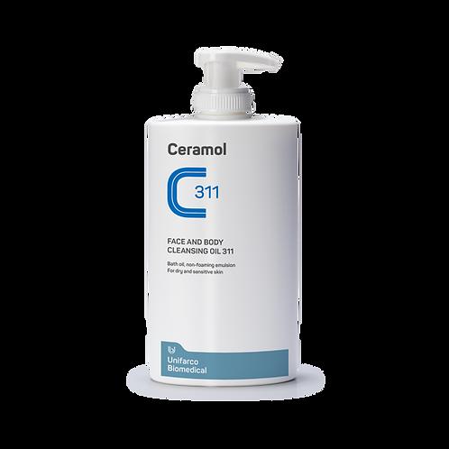 CERAMOL 311 - Face&body cleansing oil 311 (400ml)