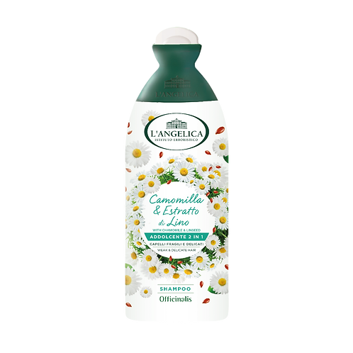 L'ANGELICA Officinalis - Shampoo&Conditioner - Softening for Weak Hair (250ml)