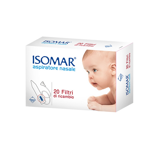 ISOMAR Nose - Nasal Aspirator - Spare Filters (20 filters)