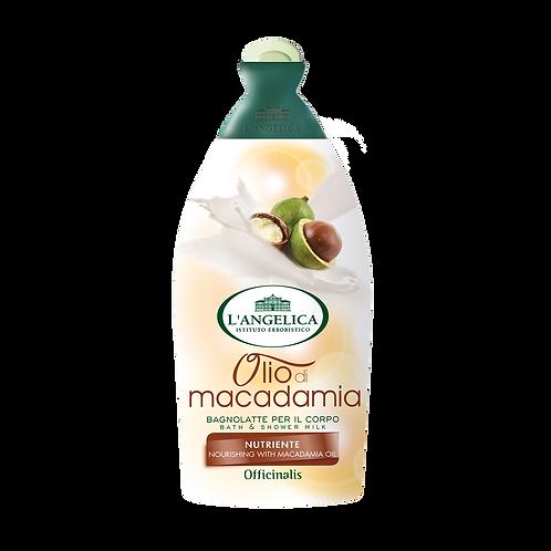 L'ANGELICA Officinalis - Bath&Shower Milk - Macadamia Oil (500ml)