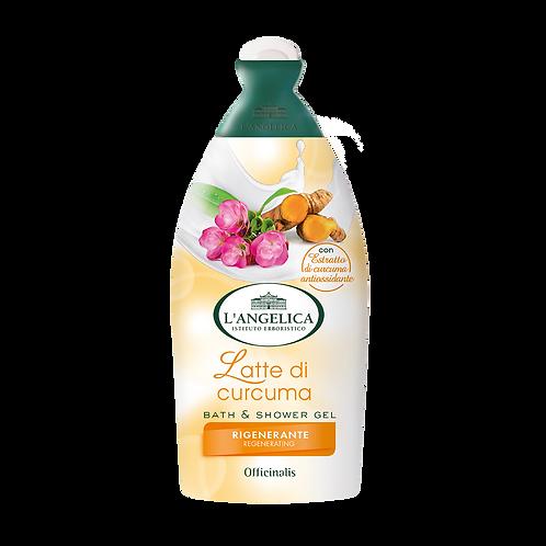 L'ANGELICA Officinalis - Bath&Shower Gel - Tumeric Milk (500ml)