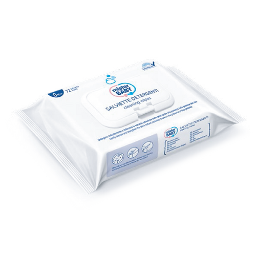 MISTER BABY - Cleaning wet wipes with NMF7 (72 wipes)