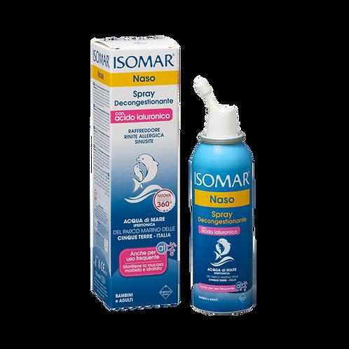 ISOMAR Nose - 360º Spray - Decongestant - Hypertonic Sea Water + HA (100ml)