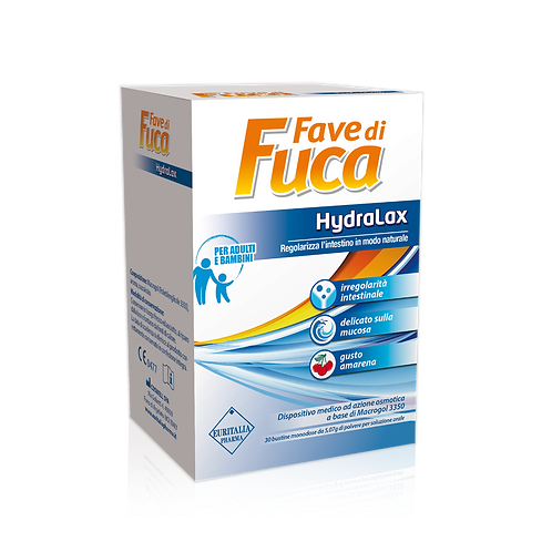 FAVE DI FUCA - Intestinal regularity - Hydralax (30 sachets)