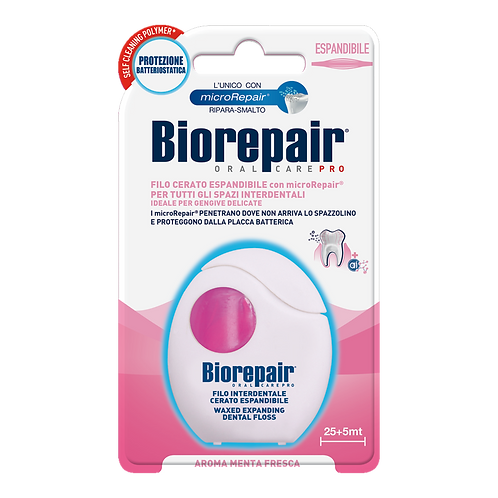BIOREPAIR - Expanding Waxed Floss (30mt)