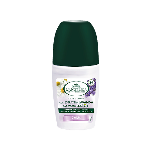 L'ANGELICA Deo - Roll On Lavander & Chamomile Calm (50ml)