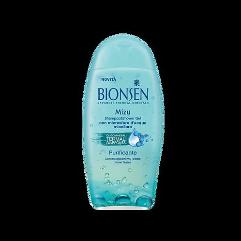 BIONSEN Hydra - Shampoo&Shower - Mizu Pureness (400ml)