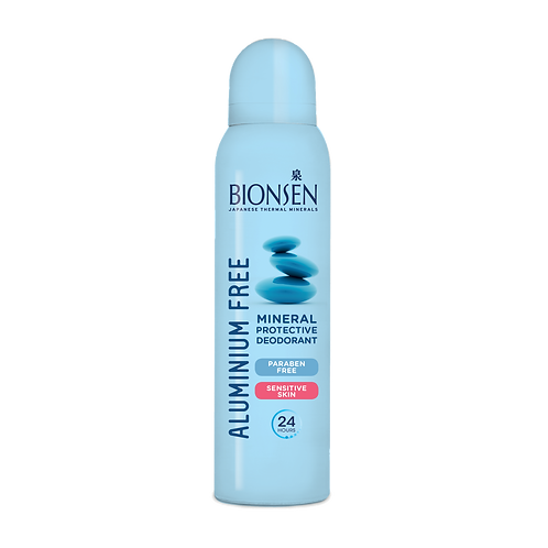 BIONSEN Deo - Aluminium Free - Mineral Protective - Spray - Sensitive (150ml)