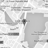 Map view | One Fullerton, Singapore | The Italian Showroom