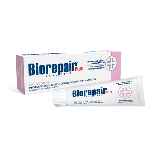 BIOREPAIR PLUS - Parodontgel (Delicate gums) - Professional toothpaste (75ml)