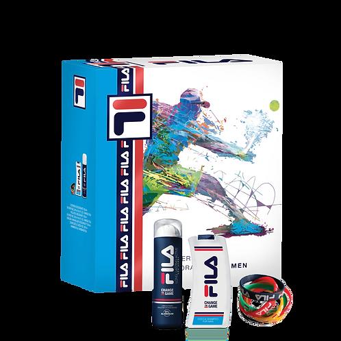 FILA - Set for Men - Dep Spray Long + Shower Gel (300ml) + Bangle