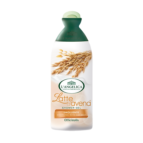 L'ANGELICA Officinalis - Shower Gel - Soothing with Oat Milk (250ml)