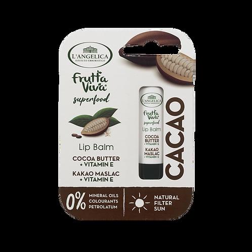 L'ANGELICA Lip Balm - Cocoa Butter & Vitamin E (4.8g)