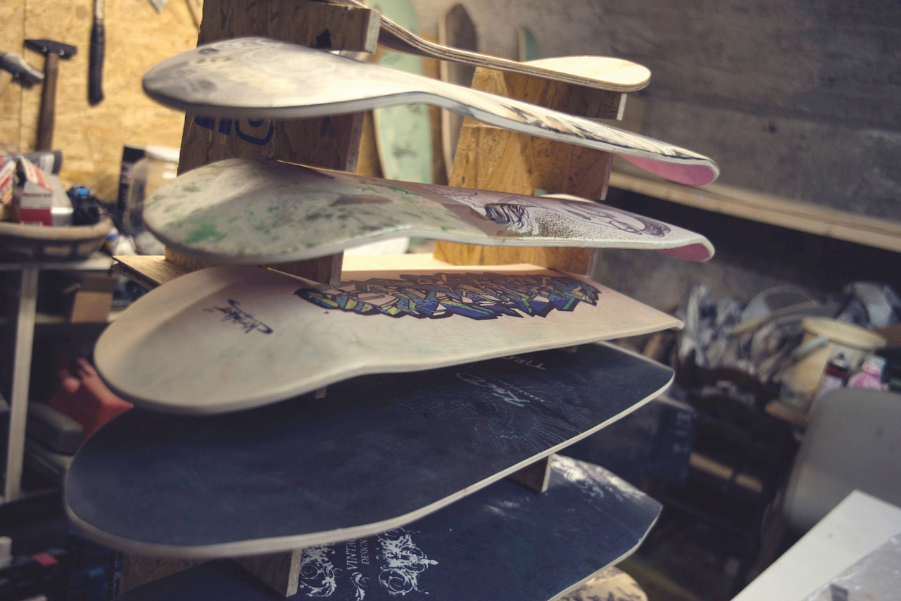 Skateboardbau