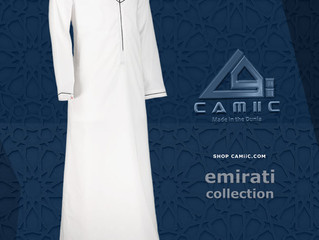Emirati Style Thobes available in South Africa.