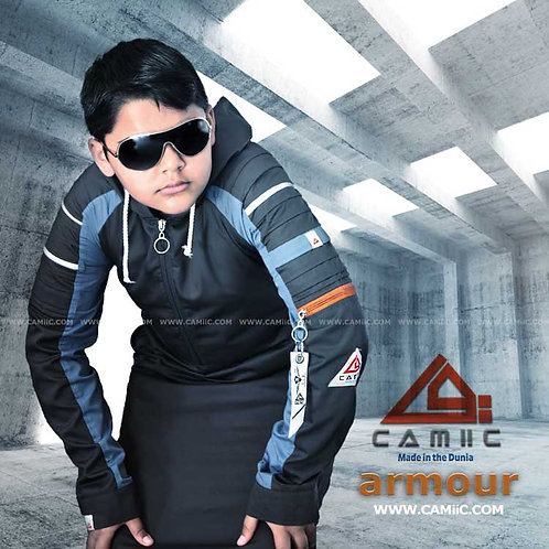 ARMOUR 2 -Grey+Teal