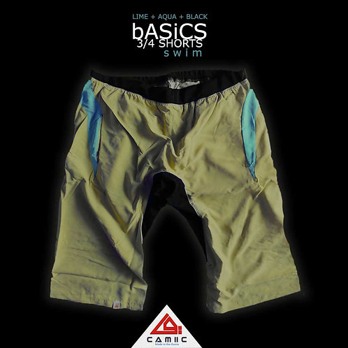 3/4 Shorts SWiM Lime