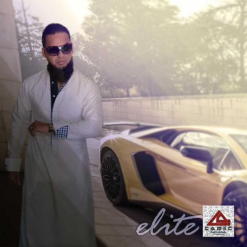 ELiTE - White+Blu Check