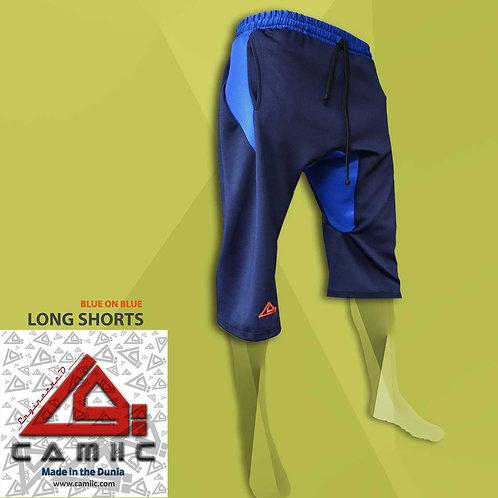3/4 Long Shorts Navy