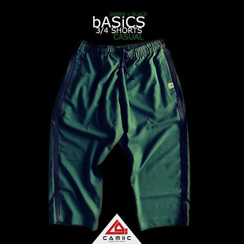 3/4 Shorts BASiC Green