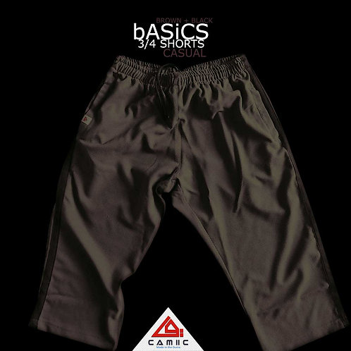 3/4 Shorts BASiC Brown